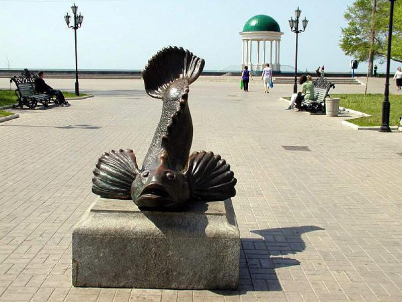 Памятник бычку, Бердянск
